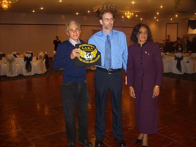 LAMA CUBA National President Sergio Morales, LAMA Rockford President and Miriam from LAMA CUBA
