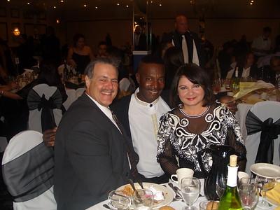 President Miami Beach Chapter Nestor, VP Florida City Joe Sanfar and Leonor Alvarez