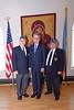United States Ambassador to Ukraine Geoffrey Pyatt meets with representatives of the Ukrainian American community Lithuanian community