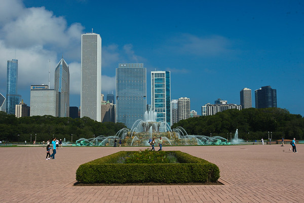 The Buckingham Fountain Chicago ©LesleyDonald