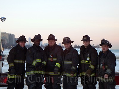 Firefighter Mike Rodgers Last Day on Squad 5