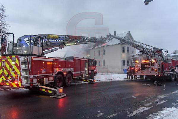Working Fire @ 4131 W Carroll St