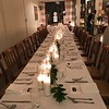 Table setup - Underground Supper by winners of Food Network's Chopped - The Long Hall