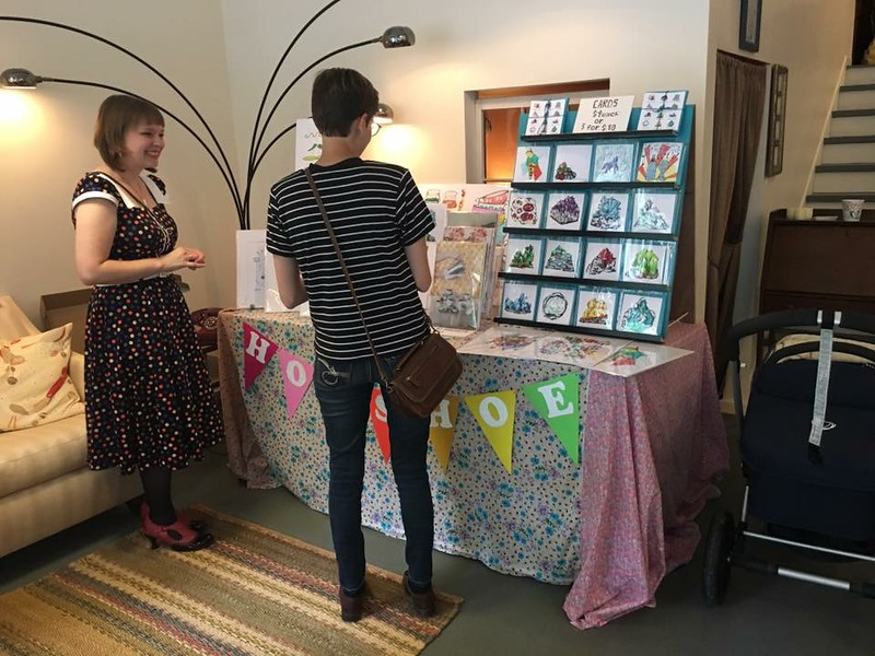 Quarterly pop-up shop with local artists - Storefront East
