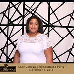 Peet's Lake Geneva Neighborhood Party, September 6, 2014