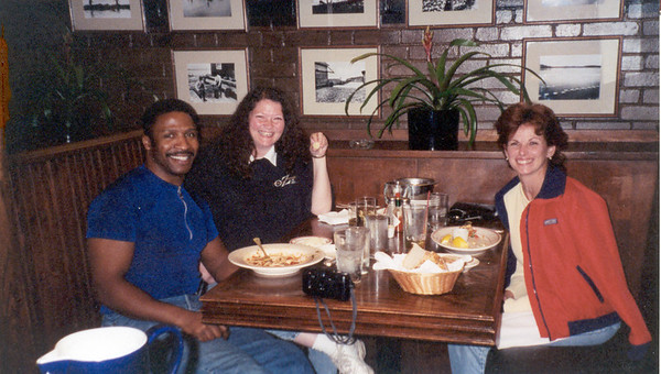 1999-5-14 Kris and Her Friend -Shaw's Blue Crab Lounge