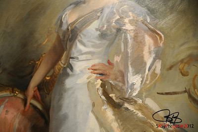 Singer Sargent detail.  Art Institute of Chicago.