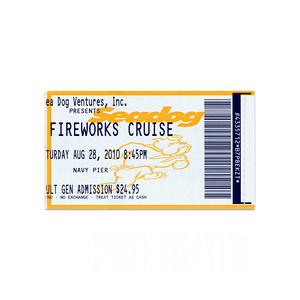 Seadog Fireworks Cruise - 2010