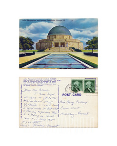 Adler Planetarium - 1956