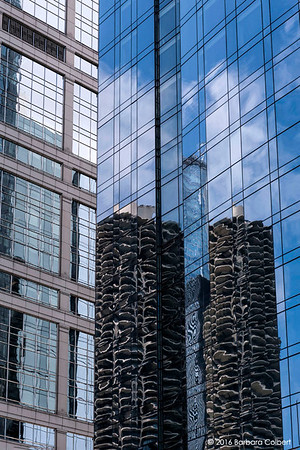 Marina Towers Reflections