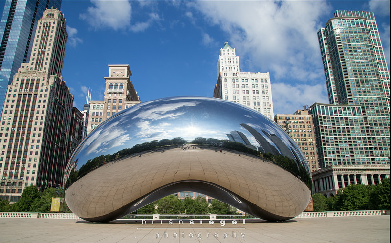 Cloud Gate at Millenium Park