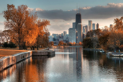 Lincoln Park Lagoon in Autumn