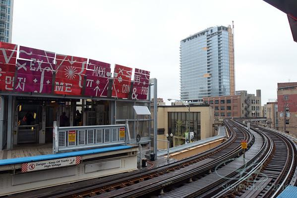 Brownline Chicago station