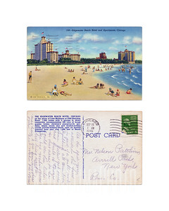 Edgewater Beach Hotel and Apartments, Chicago - 1946