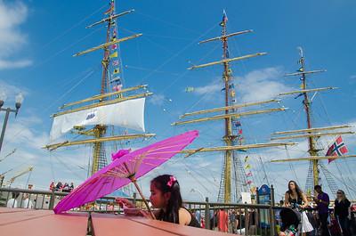 Of Parasols and Tall Ships