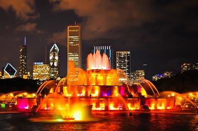 Buckingham Fountain (Explored, 7-20-10)