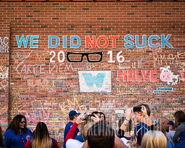 We Did Not Suck - Chicago Cubs - 2016