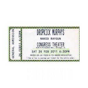 Dropkick Murphys / Naked Raygun