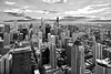 Chi-town in B&W