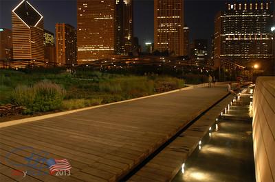 Boardwalk thru Lurie Gardens, Millenium Park