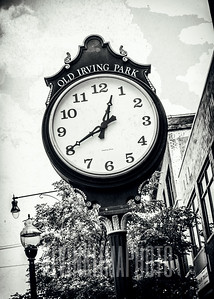 Old Irving Park Clock
