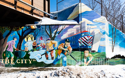 Old Irving Mural