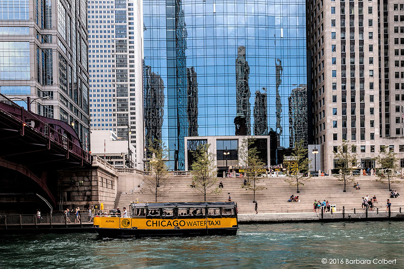 Chicago Water Taxi at the Riverwalk