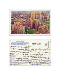 Chicago Campus, Northwestern University - 1947