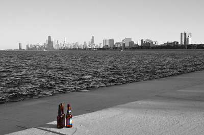 3 Bottles and a Skyline