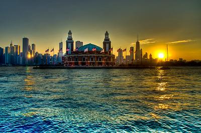 Pier Sunset (Explored)