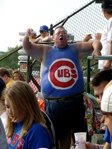 Bud man, Cubs fan