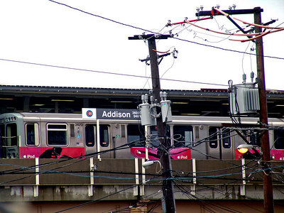 Addison train stop