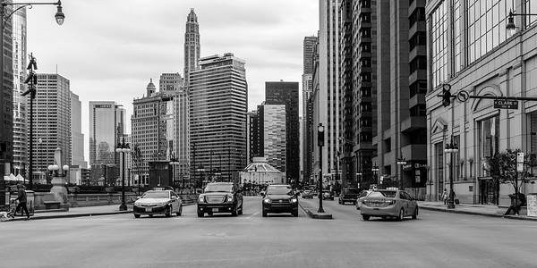 Clark and Wacker Traffic Stop