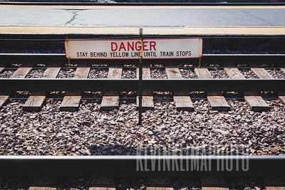 Park Ridge Train Tracks