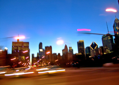 Skyline from Lake Shore Drive