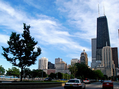Skyline as seen from Lake Shore Drive