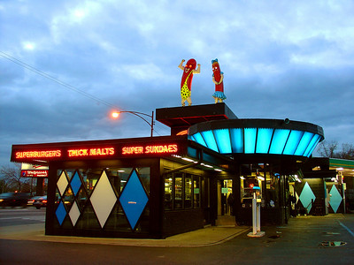 Superdawg Drive-In My favorite hot dog joint, open since 1948