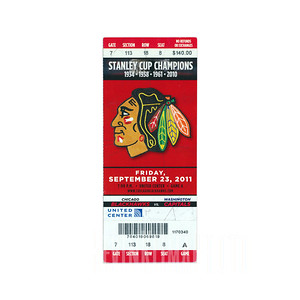 Chicago Blackhawks vs. Washington Capitals
