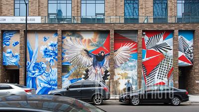 """West Loop """"Oprah"""" Mural / Street Art"""