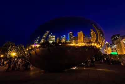 """The Bean"", also known as ""Cloudgate"""