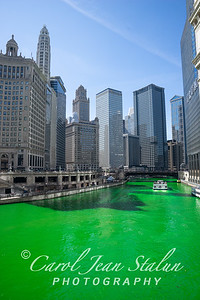 St. Patrick's Day Chicago River