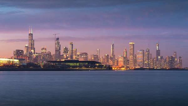 Chi Skyline Panorama
