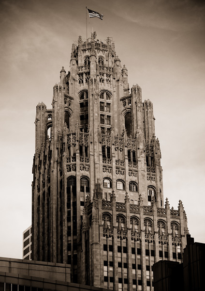 Top of Chicago Tribune Building