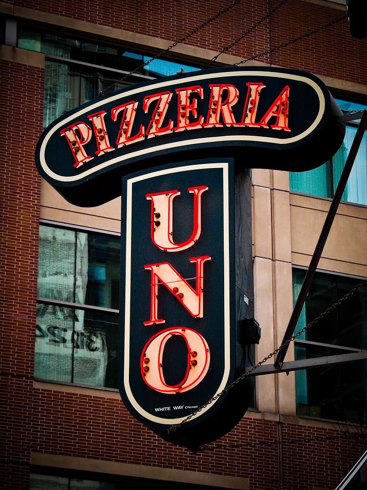 The original Pizzeria Uno at Wabash Ave