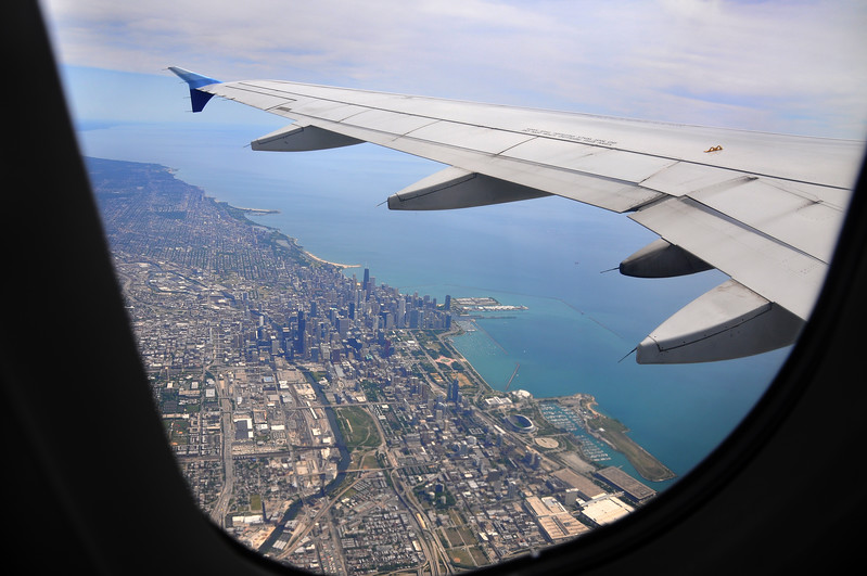 Flying over the Windy City. 2012.