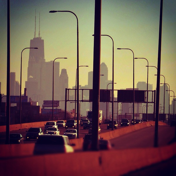 Driving Downtown.  2012.