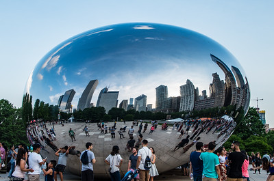Chicago on Cloud Gate