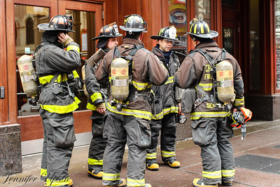 Chicago fire..... for real (false alarm).