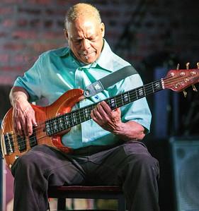 Linsey Alexander's bass player