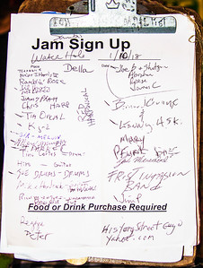 The Jam Sign-up List